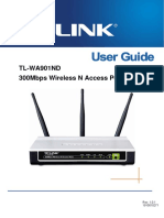 Tp-link Tl-wa901nd User Guide