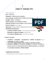 146 Proiect Didactic