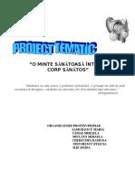 0 p.tematic Ed. Pt. Sanatate
