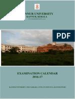 Kannur University Course Details