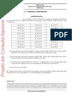 Projeto de Revisão ABNT NBR 12962 - Extintores de Incêndio — Inspeção e Manutenção