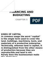 Financing and Budgeting-chapter 5