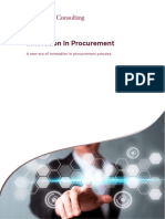 Innovation in Procurement
