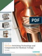 Tecnología de Conmutación de Vacío y Componentes Para Medio Voltaje