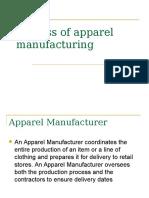 Apparel Manufacturing Process[1]