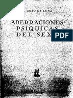 Aberraciones Psíquicas Del Sexo o El Conde de Gabalis - Mario Roso de Luna