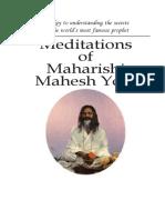 Meditations of Maharishi Mahesh Yogi