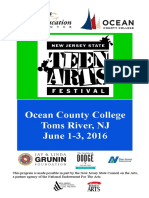 #NJTeenArts Program