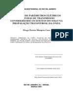 Calculo Transmissao de Energia Eletrica