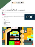 La 'Uberización' de La Economía - ElEconomista