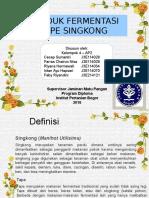 Fermentasi Tape Singkong