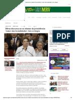 Dilma Discursa Ao Se Afastar Da Presidência_ 'Maior Das Brutalidades'; Leia a Íntegra