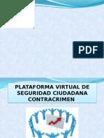 Plataforma Virtual de Seguridad Ciudadana Contracrimen