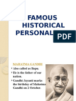Study PPT - Famous Personalities - (Class - I)
