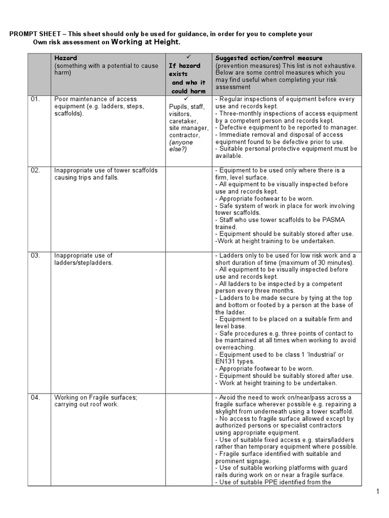 Scaffolding Risk essment Template. scaffold inspection health ... on working out, working at park, working on elevated surfaces, working at mall, working mom, working at garden, working tool lanyards drop irion, working class, working at mcdonald's, working conditions signs, working with heights, working from home sign, working at school, working from heights,