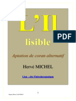 L'Il Lisible (Aptation Du Coran)