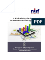 Ranking Framework for Universities and Colleges