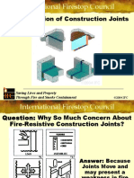 Fire Protection of Construction Joints Powerpoint