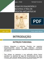 Aula 4 - Sistema ATMS de Diagnóstico Nutricional e Teia De