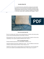 Invisible Bind Off Tutorial