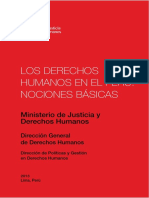 DDHH en el Peru