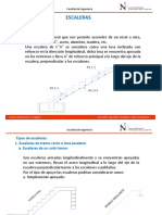 Clase Escaleras Estructuras y Cargas