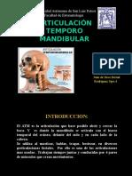 complejo aritucular temporomandibularCATM