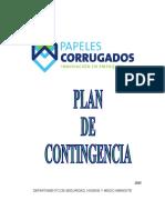 Pla de Contingencia 2015