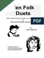 Ten Folk Duets