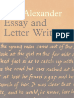 Essay and Letter Writing