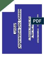 Lumbar Degenerative Disc Disease2