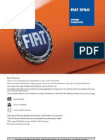 Fiat Stilo User Manual