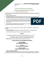 Codigo Nacional de Procedimientos Penales