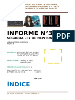 Laboratorio de Fisica Nª3 Segunda ley de Newton
