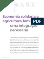 2016 Artigo 29022016 Economia Solidaria Agricultura Familiar