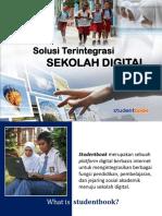 konsep sekolah digital studentbook