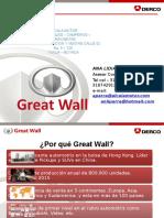 Presentación Producto Great Wall