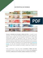 Características de Monedas