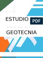 Estudio de Suelos Geotecnia y Geologia