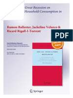 Soci - 2014 - Ballester - Velazco - Rigall - Great Recession Consumption