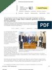 ABC Digital.Conflicto entre FFAA y Policia Nacional