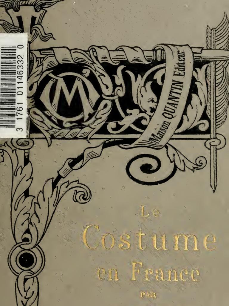 (1890) Le Costume en France e6996163a851