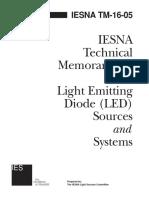 Technical Memorandum on LED