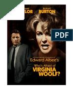 Virginia Woolf Movie Poster