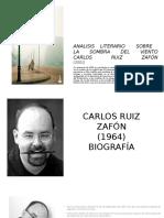 Analisis Literario Sombra Del Viento