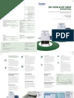 DPU550 and U580 Brochure