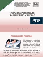 Finanzas Personales Presupuestos y Ahorro