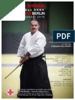 09/2016 Aikido Seminar Berlin (Deutsch Version)