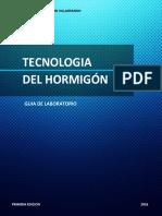Guía de Laboratorio de Tecnología del Hormigón