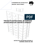 Proyecto Estructural de Edificios Aporticados de Concreto Armado